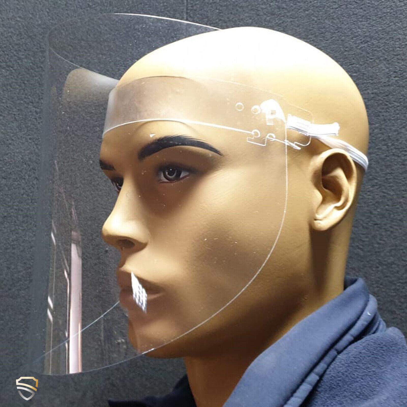 klappbares Hygiene Schutz-Visier / Zusatzausrüstung zu Schutzausrüstungen