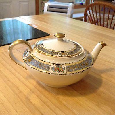 "Extremely RARE Antique Boston Pottery Tea Pot ""Lockwood"" late 1800's"