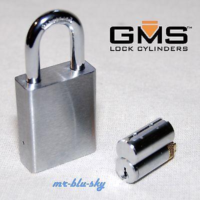 Rekeyable Padlock To Your House Or Business - Kwikset Kw1 Keyway 2 Keys