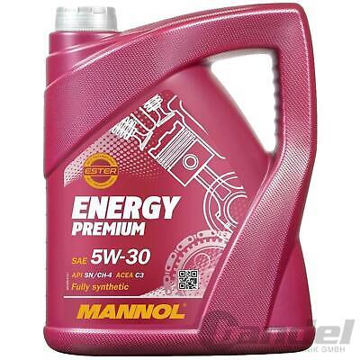 5W-30 5 Liter MANNOL ENERGY PREMIUM MOTORÖL MB 229.51 BMW LONGLIFE-04