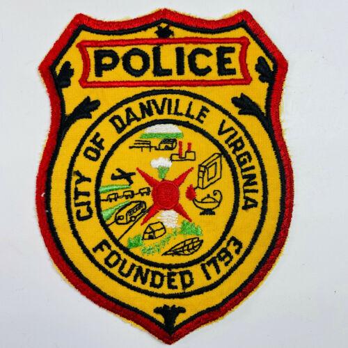 Danville Police Virginia VA Patch (A1-B)