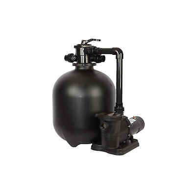 Sand Filter System for In-Ground Pools   1HP, 22-in 300-lb - FlowXtreme