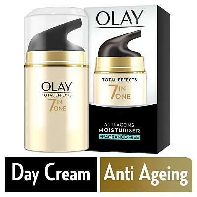 Olay Total Effects Fragrance Free Moisturiser 50g/1.7oz