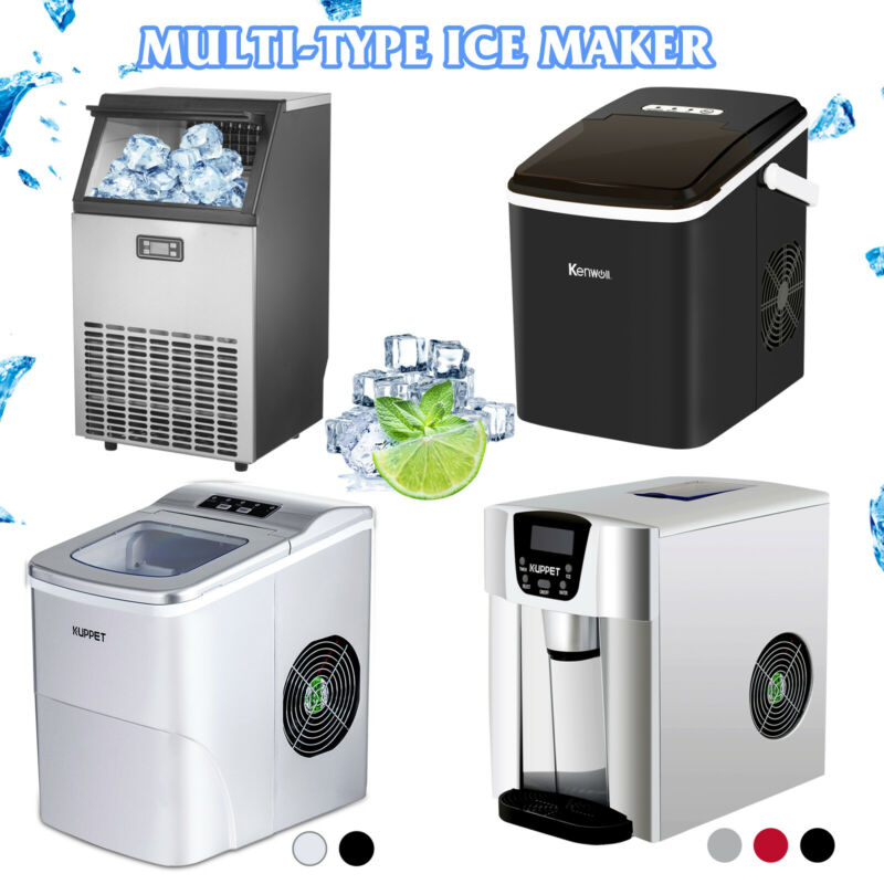 Portable Electric Water Dispenser w/Ice Maker Countertop Ice Compact Machine