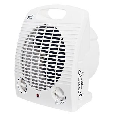 Comfort Zone HBCCZ35 Heater/Fan, Compact, White