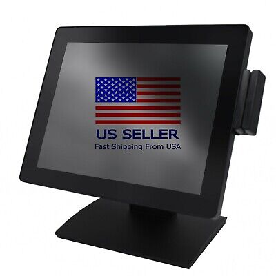 Pos Terminal All-in-one 4gb 64 Ssd Windows 10 Aloha Ncr Positouch Accupos