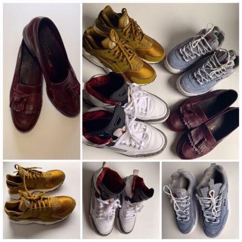 Nike Huarache BALLY Air Jordan Ball Spizike FILA Shoe Lot Jordan 6.5 7 9 Men Boy