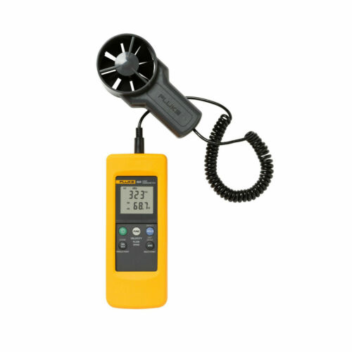 Fluke 925 Anemometer Wind Speed Air Flow Velocity Temperature Meter & Detectors