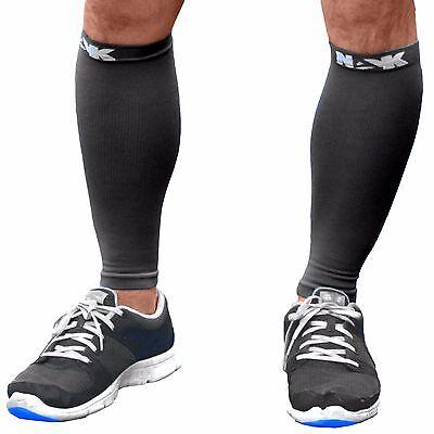 Medical Sports Calf Brace Support Sleeve Leg Compression Running Shin  1 Pair