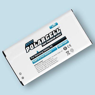 PolarCell NFC Akku für Samsung Galaxy S5 SM-G900F S5 Neo SM-G903F EB-BG900BBE V