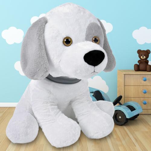 XL Stofftier Kuscheltier Plüschtier Hund Kuscheltiere Plüschhund Spielzeug Groß