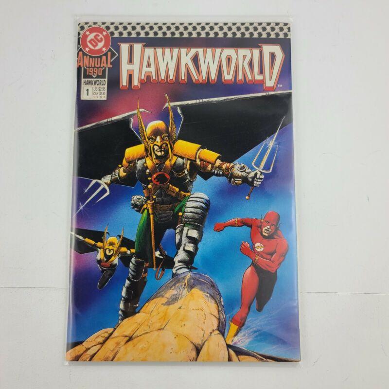DC Comics Hawkworld Lot 1-15 + 17-20 Annuals 1990 and 1991
