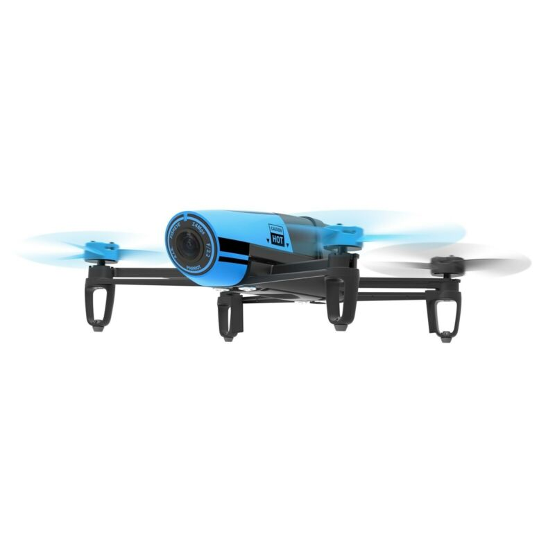 Parrot Bebop Quadcopter Drone with 14MP Full HD 1080p Wide-Angle Camera(Blue)