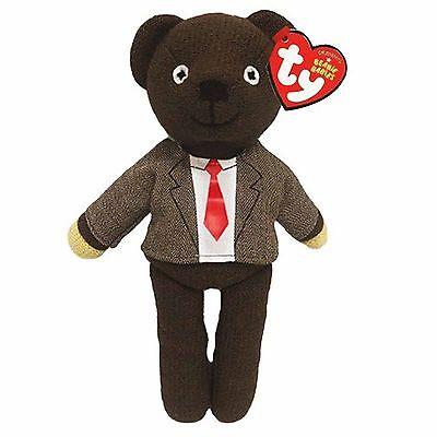 Official TY Beanie * Mr Bean * Teddy Bear in Jacket & Tie