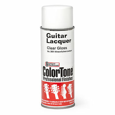ColorTone Aerosol Guitar Lacquer, Clear Gloss