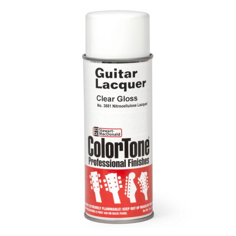 ColorTone Aerosol Guitar Lacquer, Clear Gloss