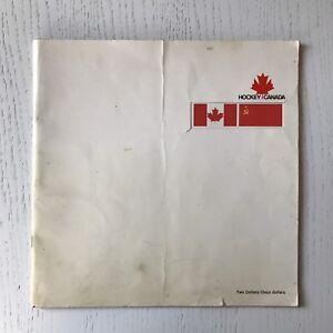 1972 Canada / USSR Series Hockey Program
