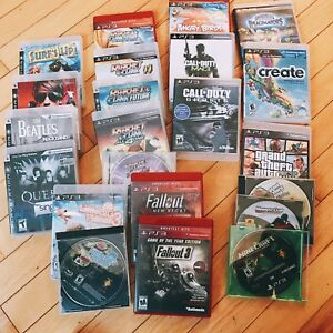 PS3 games. $5 each selling as a bundle.