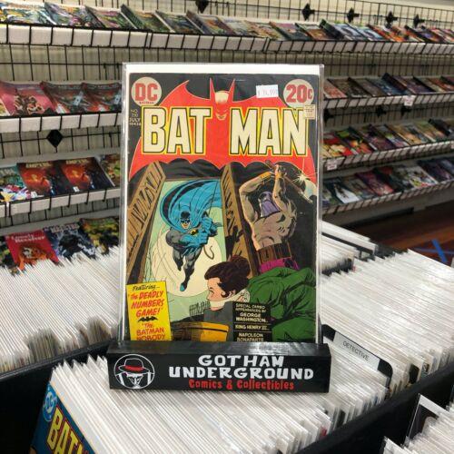 Batman 250 Vol 1 Dick Giordano Cover Art - DC Comics 1973