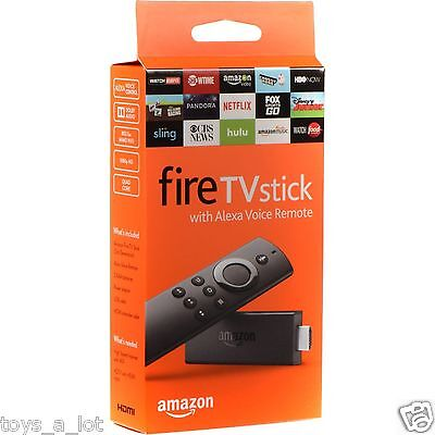 Amazon Fire TV Stick with Alexa Voice Remote Streaming Media Player Gen 2