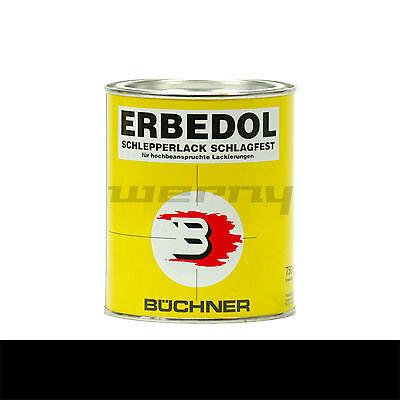 Büchner Erbedol RAL9005 schwarz glänzend Lack Farbe Kunstharzlack 750ml 14,53€/L
