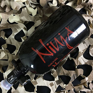 NEW Ninja Compressed Air HPA N2 Tank w/ Adjustable Regulator - 35ci 3000psi