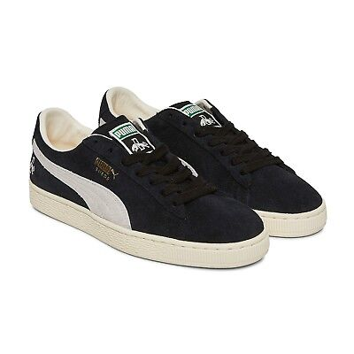 Men's Puma Suede Classic Rudolf Dassler Black Suede Fashion Trainers UK 6 - 10.5