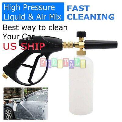 Snow Foam Lance Cannon Soap Bottle Sprayer For Pressure Washer Gun Jet Car Wash Auto Pressure Sprayer