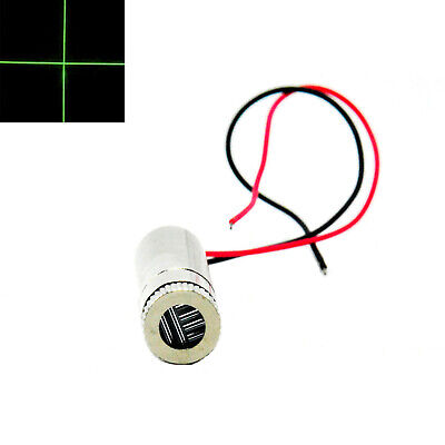 Cross Focusable 515nm 520nm 30mw Grass Green Laser Diode Module Dc3.2v 12x35mm