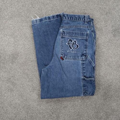 Vintage 90's FUBU Carpenter Jeans Denim youth size 16 Measured 28x27