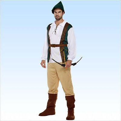Mittelalter Kostüm Robin Hood Gr. 48-52 Mittelalterkostüm Räuber - Alte Robin Kostüm