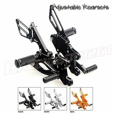 CNC Racing Adjustable Rearsets Rear Sets Footpegs For Honda CBR600RR 2007 (Racing Rear Sets)