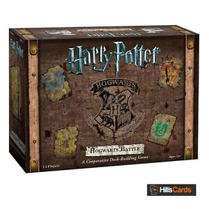 Harry Potter Hogwarts Battle: A Cooperative Deck-Building Card Game inc Board