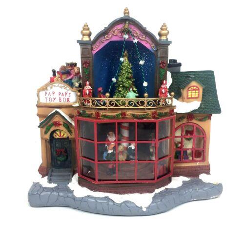 Christmas Village Toy Shop Carole Towne Pap Pap