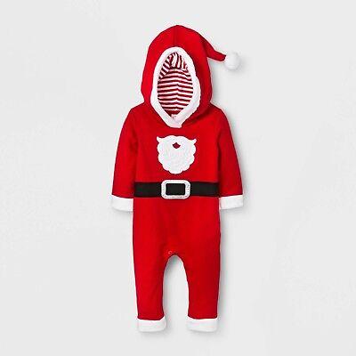 New ! Baby Boys' Santa Suit - Cat & Jack Red - Boys Santa Suit