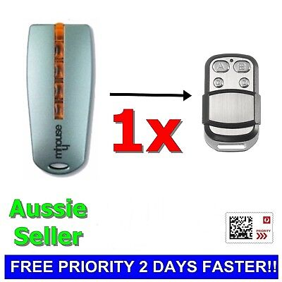 Mhouse/MyHouse Door Gate Remote Control Compatible TX4 TX3 GTX4 433.92mhz