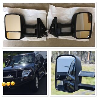Clearview Towing Mirrors - Mitsubishi Pajero