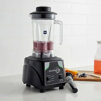 Avamix 3 12 Hp Commercial Blender With Toggle Control And Two 64 Oz Containers