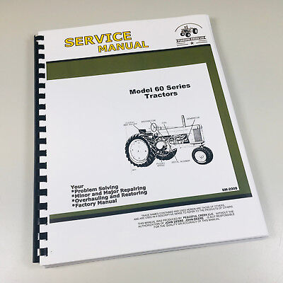 Service Manual For John Deere Model 60 620 630 Tractor Chassis Sm-2008