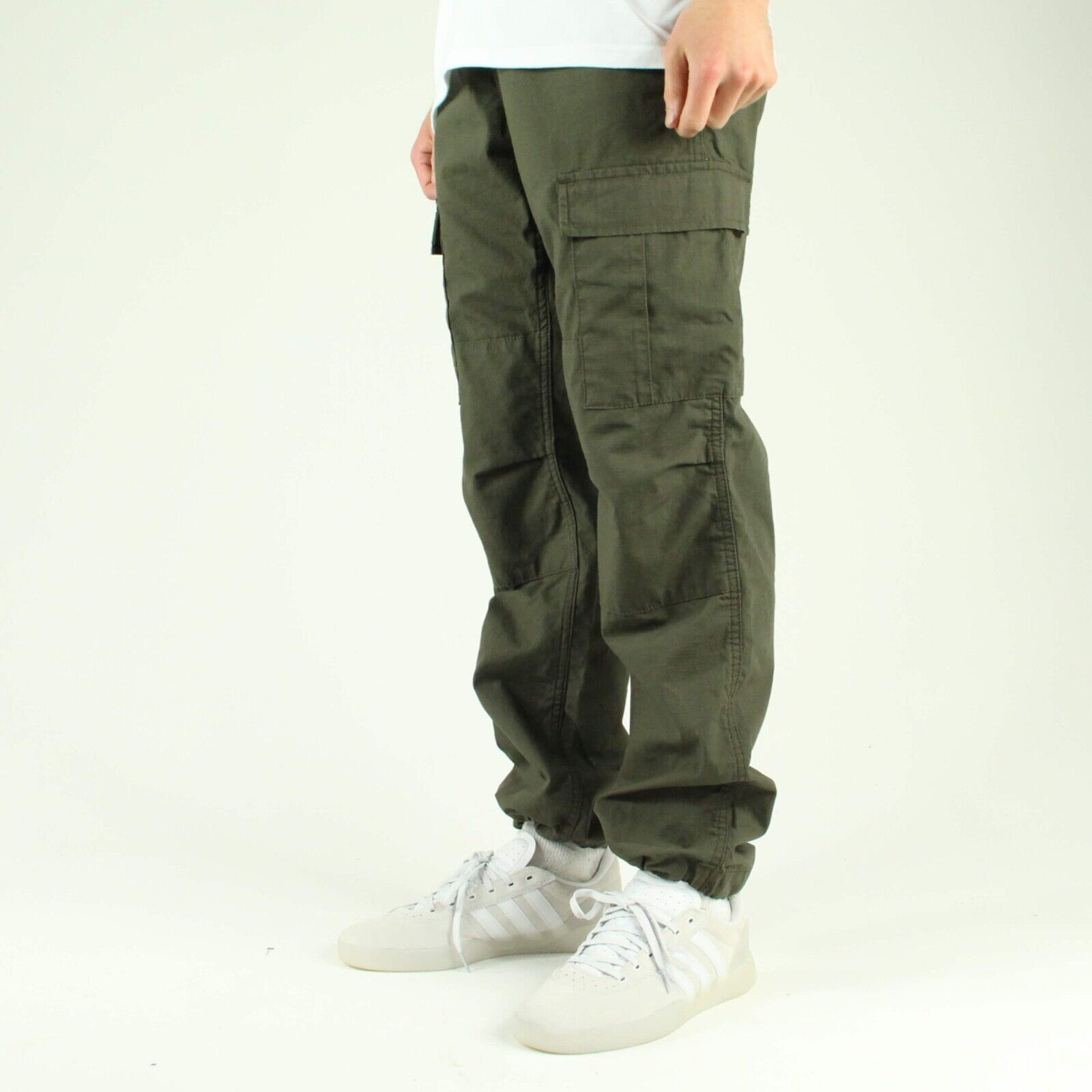 offer discounts crazy price outlet for sale Details about Carhartt Aviation Cargo Ripstop Pants Trousers in Cypress  Green in size 30,32,34