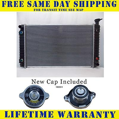 Radiator With Cap For Chevy Fits Transport Silhouette Lumina Apv 1476WC