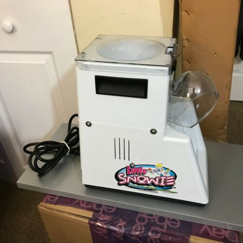 Snowie Little Blizzard Snow Cone Machine Shaved Ice Maker SHVRLS