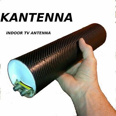 Indoor TV antenna Powerful, Best Range, Exellent support, KANTENNA  CUT THE