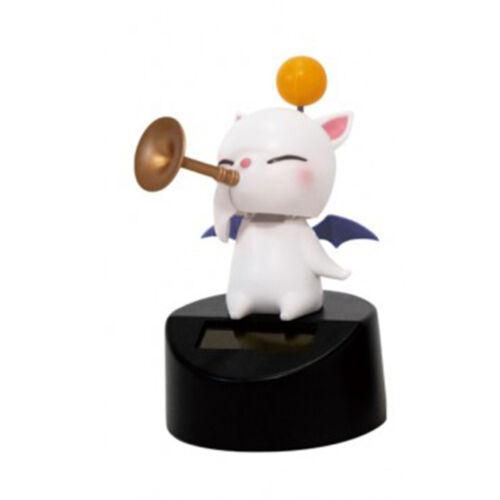Final Fantasy XIV Moogle Music Band Horn Mini Solar Figure NEW Bobble