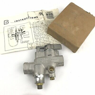 Rare Baso Valve Penn Gas Products D832-1 Type 832 Automatic Pilot Ld832 D832-11