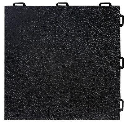 Greatmats Basement Flooring StayLock Orange Peel Tile New Hyacinthine 26 Pack