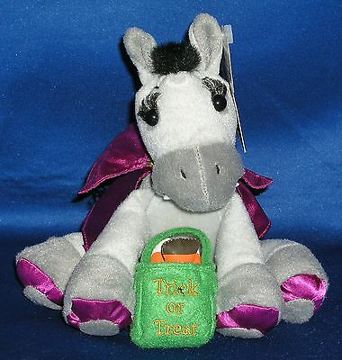 Breyer~2004~Vladamir~Vampire Halloween Plush Horse~NEW~RARE~LOOK - Look Vampire Halloween