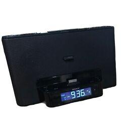 Sony Dream Machine IPod Dock Alarm AM FM Clock Radio WITH AUX Input ICF-CS15iP
