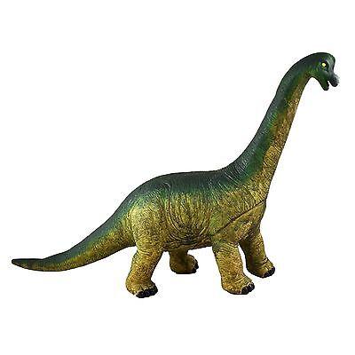 "Large 21"" (54cm) Soft Stuffed Rubber Dinosaur Realistic Details Jurassic Toy"