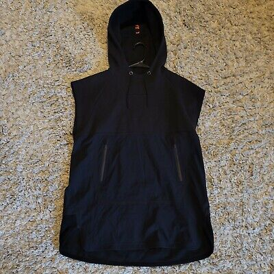Under Armour x Tim Coppens UAS 04 Men's Black Sleeveless Hoodie Size Medium